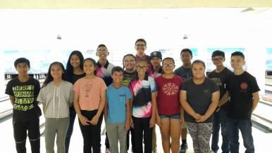2017 Triple J Enterprises Guam Summer Youth Bowling League members