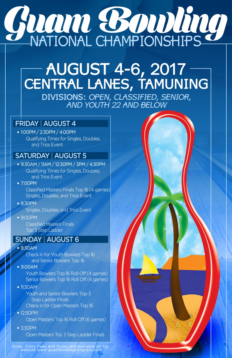 Guam Bowling National Championships_Poster